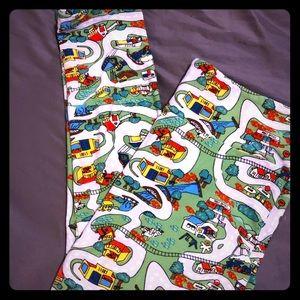 Lularoe leggings maps
